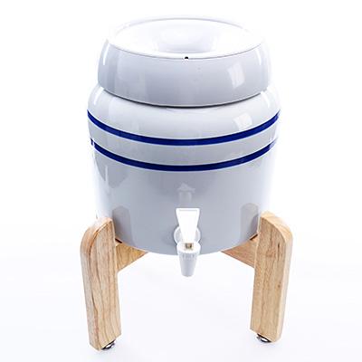 Ūdens aparāts - porcelāna trauks un statīvs, mazais