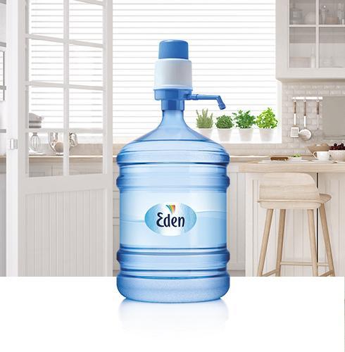 Ūdens pumpis ar Eden ūdeni