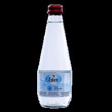 Eden gāzēts dzeramais ūdens stikla pudelē 0,33l