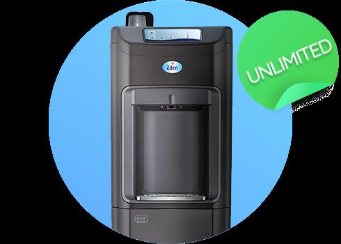 Dzesētājs ar filtru Eden Unlimited - tīrs ūdens bez limita