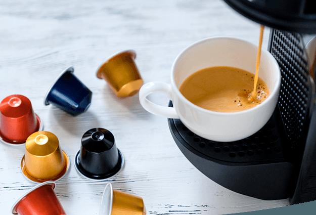 Kapsulu kafijas automāti