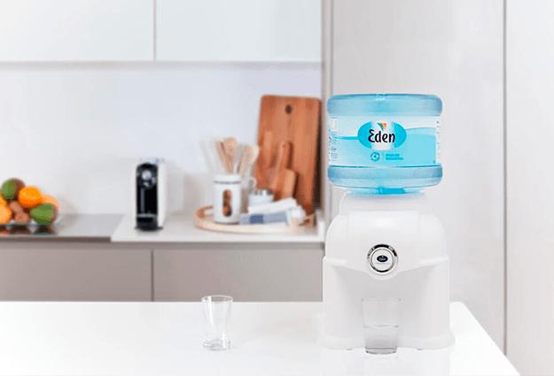 Kā darbojas Eden ūdens piegāde uz mājām?